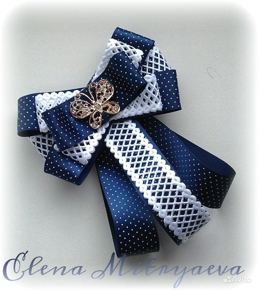 Как сделать галстук-брошь