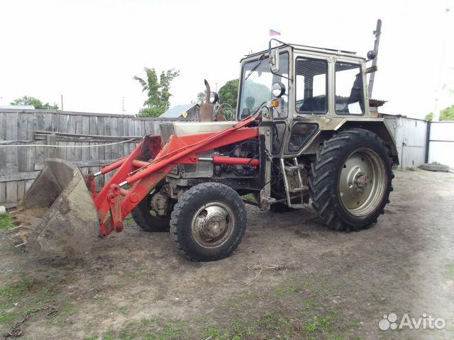 Трактор Мтз-82 с куном.