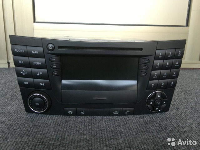 Mercedes benz e-class w211 pure android dvd