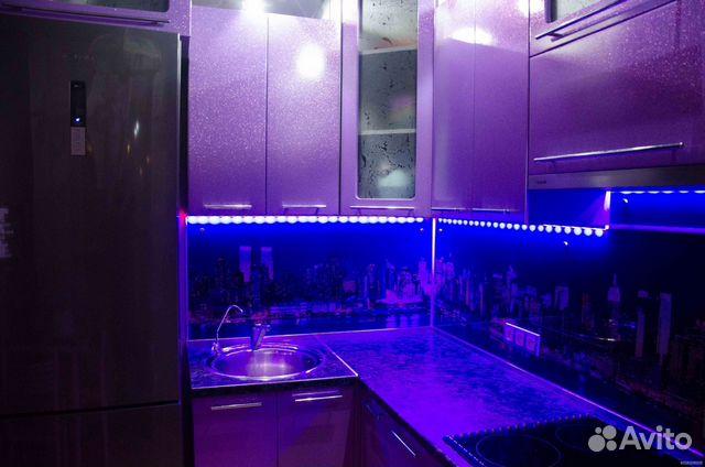 Подсветка кухни из светодиодной ленты