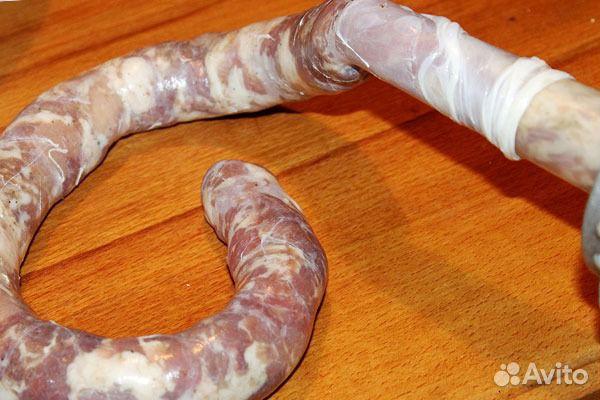 Кишка для домашней колбасы своими руками