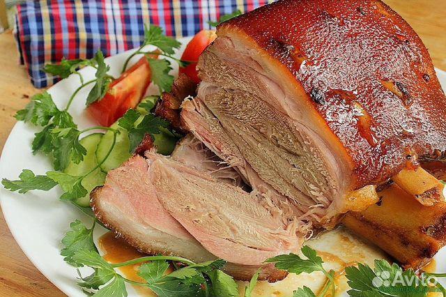 Запеченная свиная рулька пошаговый рецепт с