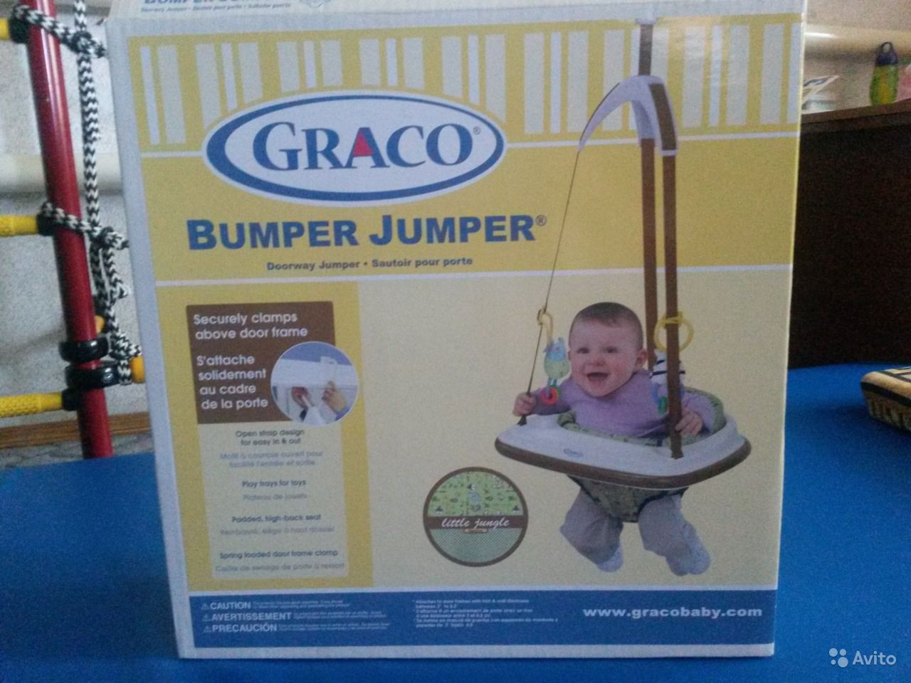 Прыгунки Graco Bumper Jumper Прыгунки Graco Bumper Jumper