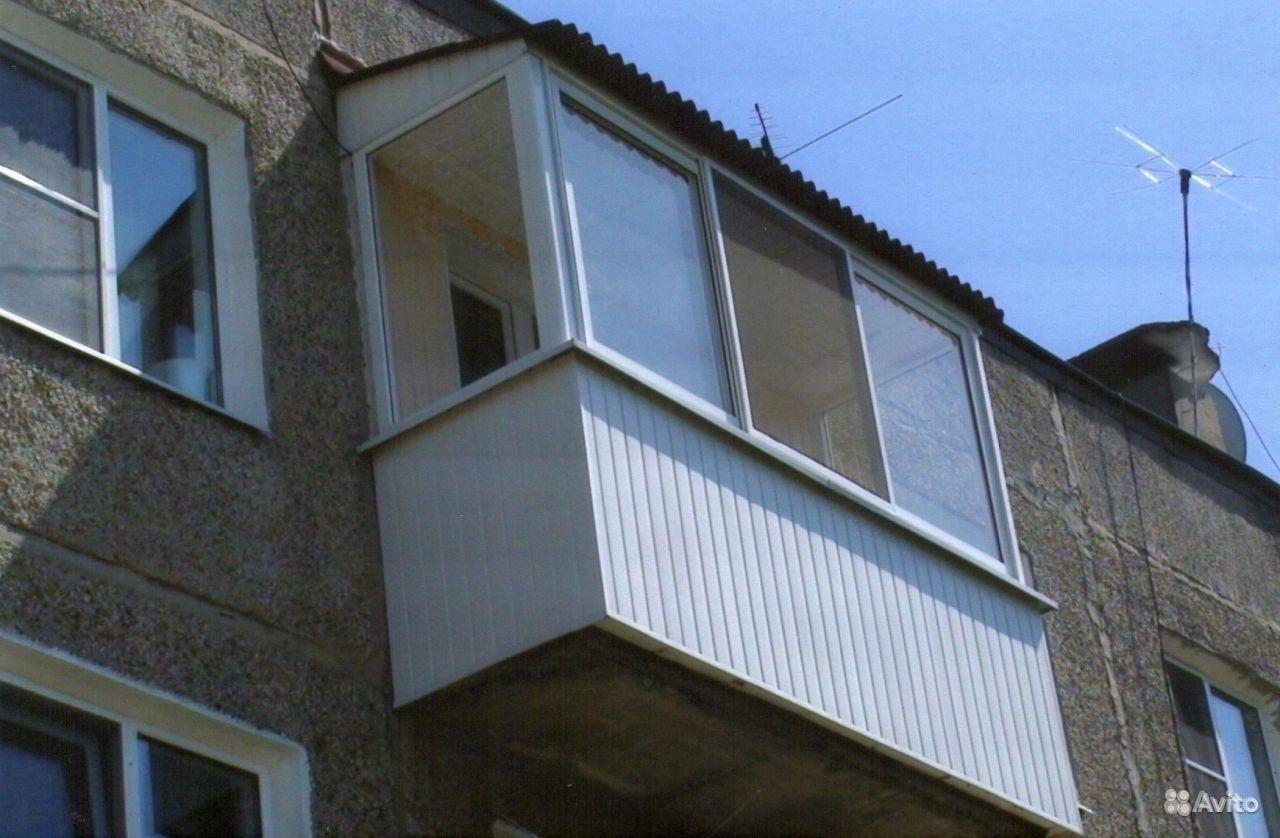 Замена козырька балкона.
