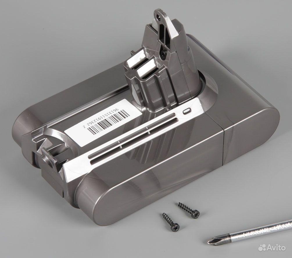 Аккумулятор для беспроводных пылесосов dyson dyson supersonic white
