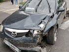 Mazda 6 2.0МТ, 2006, битый, 210000км