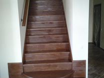 Деревянные лестницы, изготовление и установка — Предложение услуг в Санкт-Петербурге