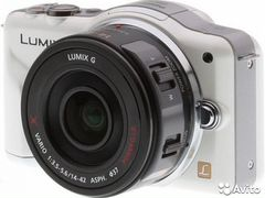 Panasonic DMC-GF3(14-42mm) 8гб.Usb.Сумка.Япония