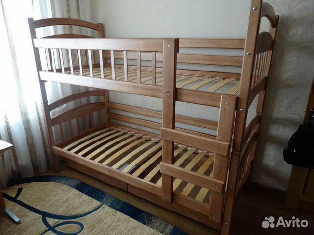 Двухъярусная кровать масси