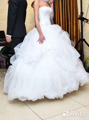 Купить свадебное платье авито саранск