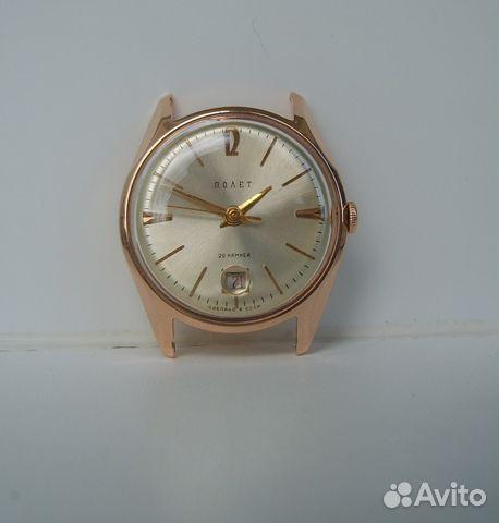 646da2af Золотые часы Полет 2416, СССР 583 пр купить в Республике Крым на ...