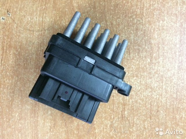 резистор вентилятора печки ford ka