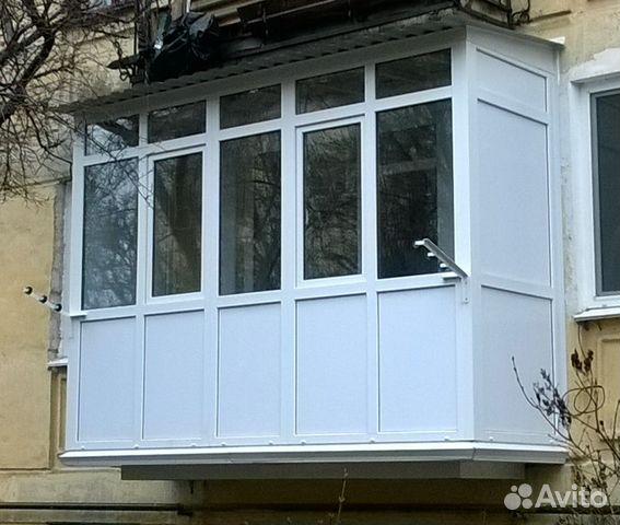 Услуги - балконы любой сложности в республике крым предложен.