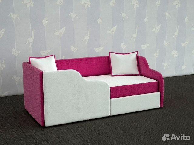 Купить детский диван с бортиками с микки
