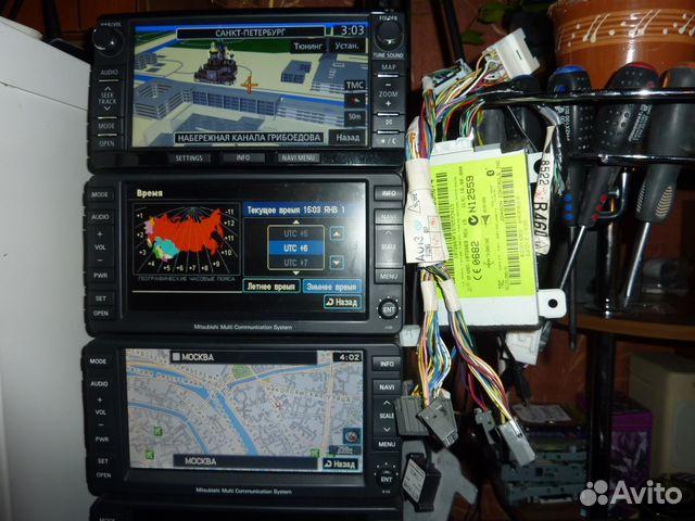 Штатная навигационная система Mitsubishi mmcs купить в Санкт