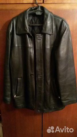 8749c8bd81ab Зимняя натуральная кожаная куртка с подстежкой   Festima.Ru ...