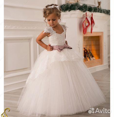 46991b16248 Пышные детские платья в пол. модель 49 купить в Москве на Avito ...