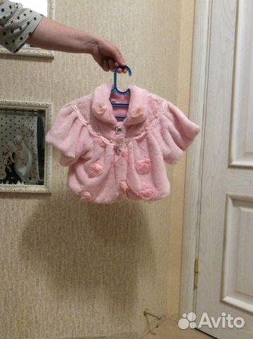 Накидка на платье для девочки 89206744004 купить 1