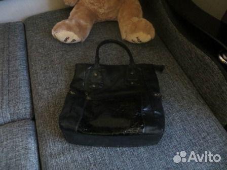 38bd456e6783 Продаю б/у сумки женские черного и цвета фуксии купить в Республике ...