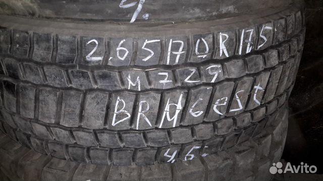 265/70 R17 5 Bridgestone 3 штуки б/у купить 2