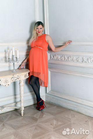eebe1ef7b424dcb Нарядное платье для беременных купить в Санкт-Петербурге на Avito ...