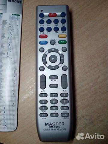 Пульт универсальный master RM-909E купить в Самарской области на ... 84454efdf6c