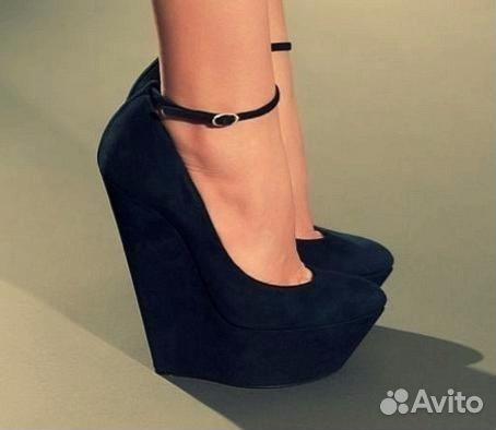 dbd89c3cb Продам туфли на высокой танкетке | Festima.Ru - Мониторинг объявлений