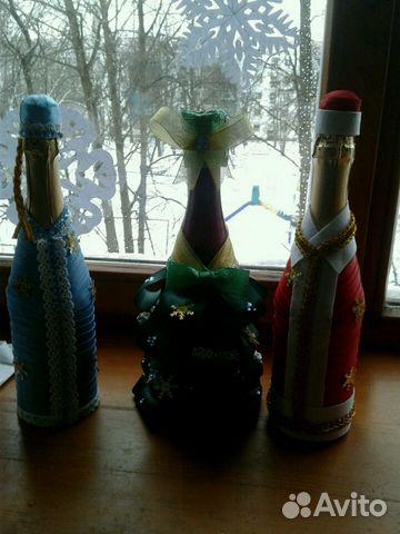 бутылка из под шампанского в очко разместить