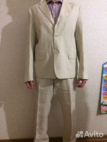 66ffceec0d5e Льняной мужской костюм, большой рост | Festima.Ru - Мониторинг ...