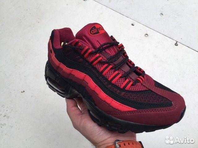 3d405a11d10 Nike Air Max 95 red black