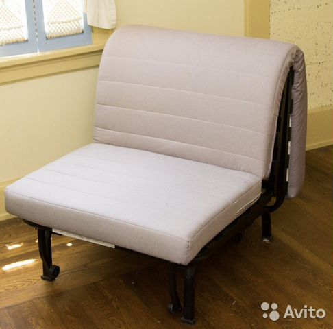 кресло кровать икея Ikea икеа ликселе с матрасом Festimaru