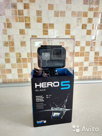 GoPro5 Hero Black Edition (как новая)