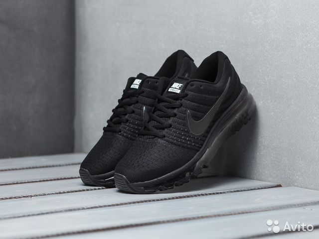 quality design 3662a 037f9 Nike air max 2017 Triple Black