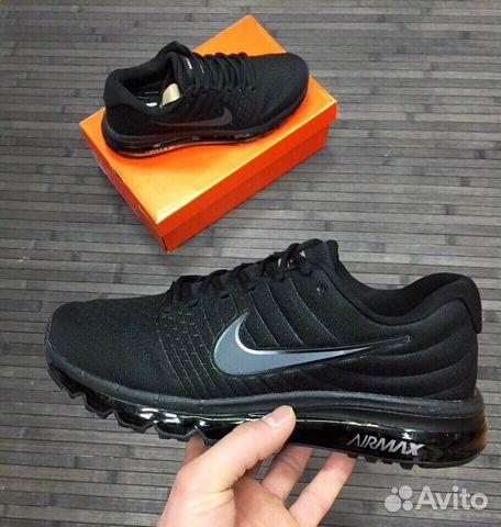 60c702b30132 Кроссовки Nike Air Max 2017 чёрные мужские   Festima.Ru - Мониторинг ...