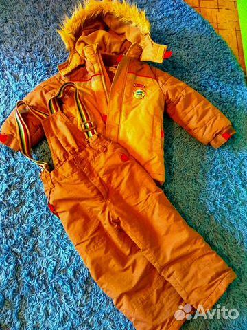 Зимний костюм на мальчика 89106978417 купить 1