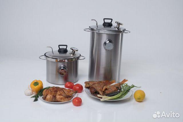 Купить коптильню горячего копчения с гидрозатвором в москве самогонный аппарат спартак купить