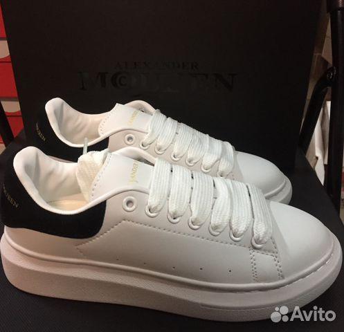 53bdd7f676915 Alexander McQueen бело-черные все размеры купить в Москве на Avito ...
