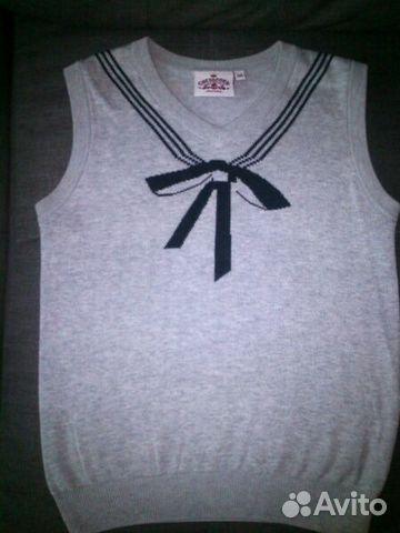 Жилет и блузки школьные купить 1