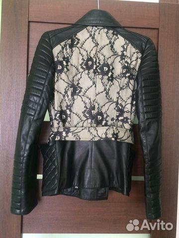 Куртка кожаная 89501330627 купить 5