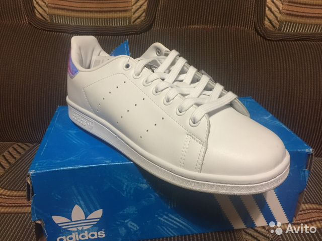 nouveaux styles 92605 f8750 Adidas stan smith holographic 38 размер