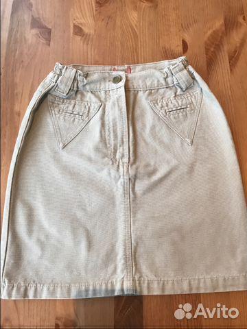 Юбка джинсовая рост 116 89090134444 купить 1