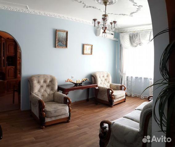 Продается четырехкомнатная квартира за 3 900 000 рублей. Курск, микрорайон Северо-Западный, проспект Хрущёва.