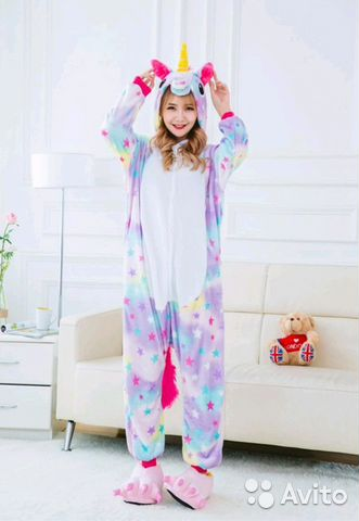 Пижама кигуруми единороги  1f495c8290ea4