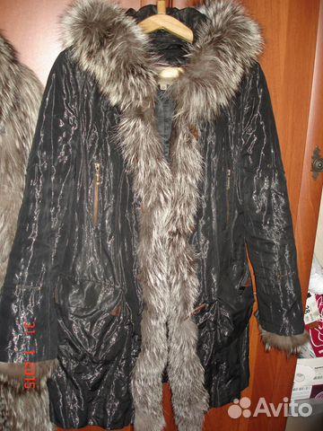 Куртка (женская парка с натуральным мехом) 89053064306 купить 5