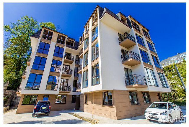 Продается однокомнатная квартира за 2 700 000 рублей. Краснодарский край, Сочи, микрорайон Новый Сочи, Клубничная улица.