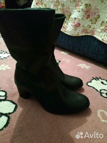 Сапоги новые зимние кожаные 89887087878 купить 3