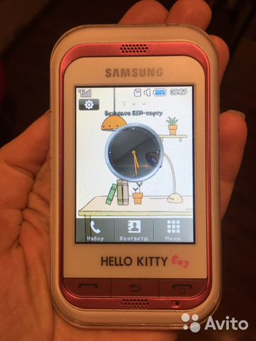 eae03da64586d Телефон SAMSUNG Hello Kitty gt-s3300i купить в Московской области на ...