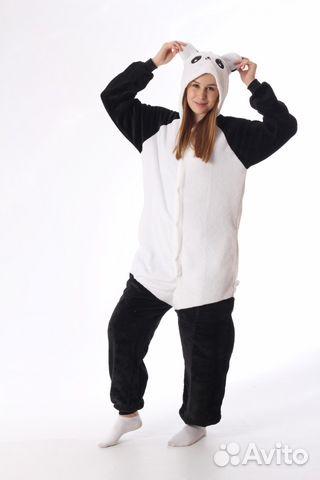Кигуруми Веселая Панда  99994d4ff5ba5