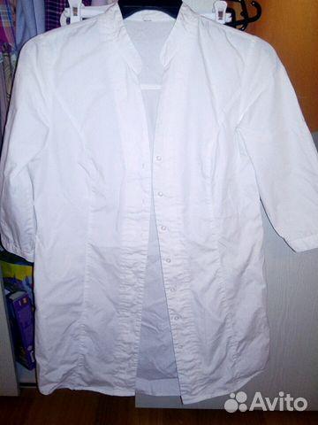 Рубашка белая купить 1