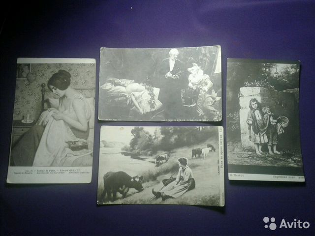 Котиками скучаю, коллекционные открытки продаю